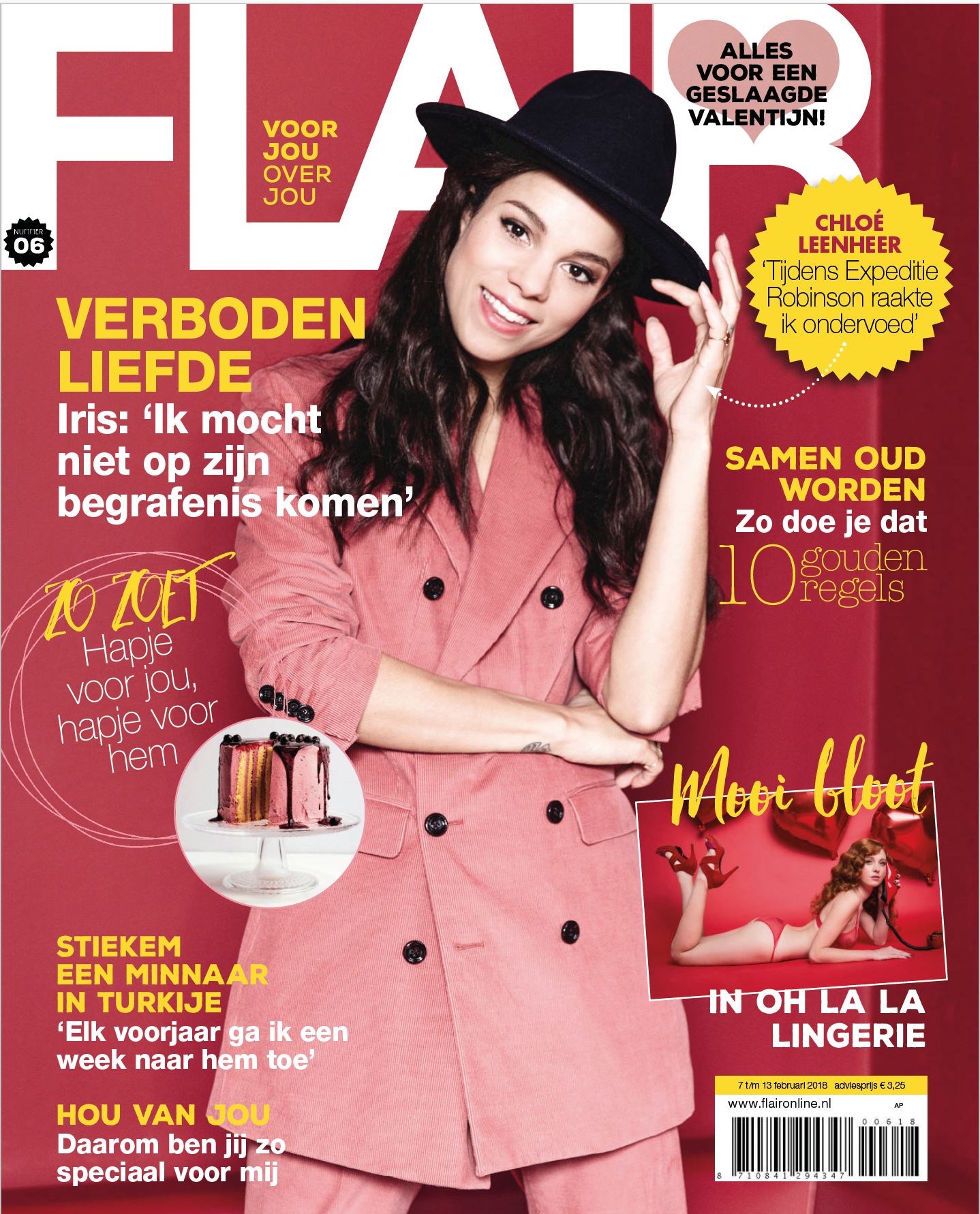 DJ Diyo in het Flair magazine - Cover